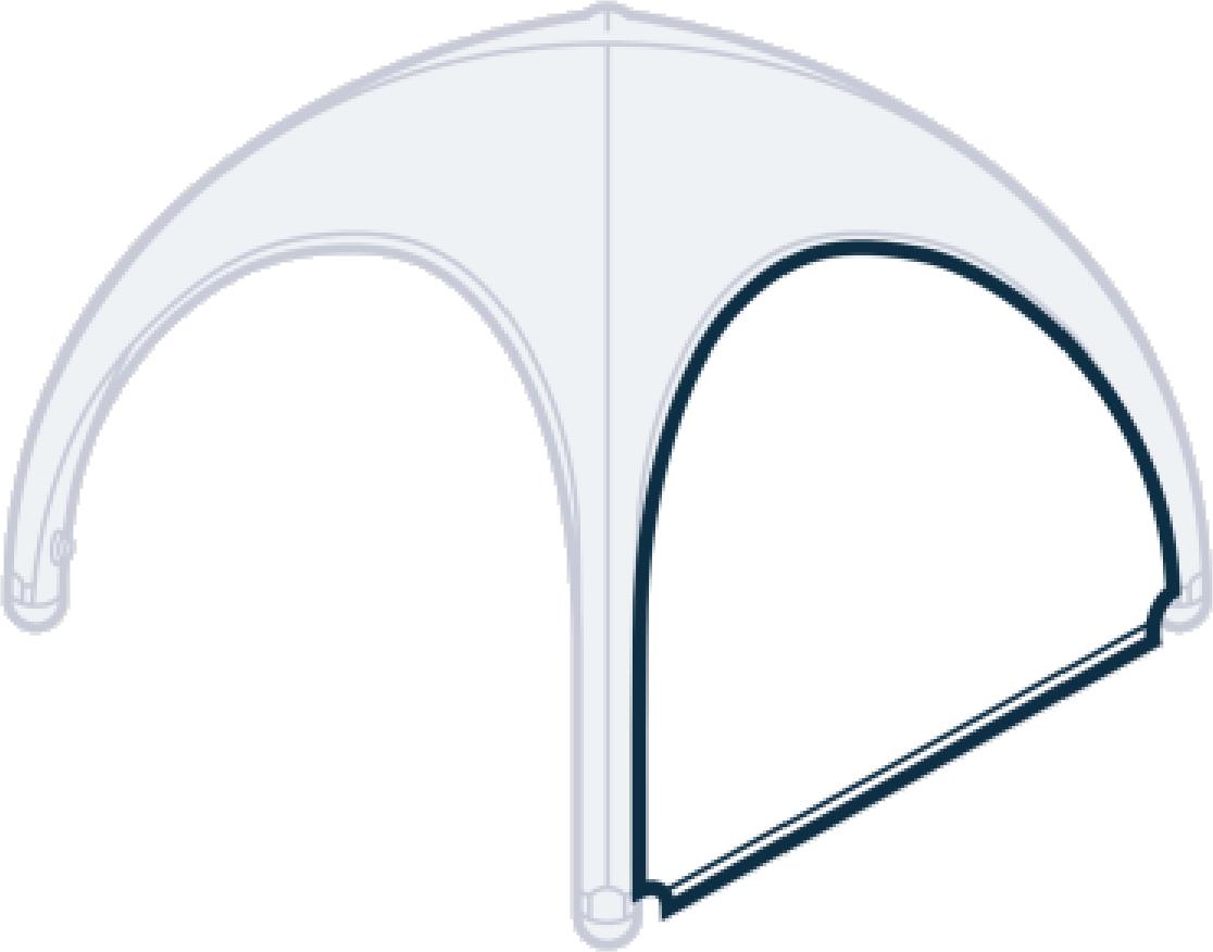 Einsatzzelt - Seitenteil (Version 1)