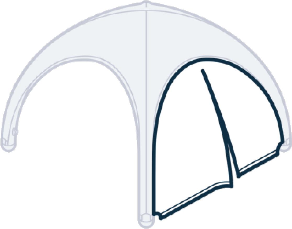 Einsatzzelt - Seitenteil (Version 3)