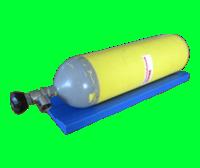 Cylinder anti-roll unit