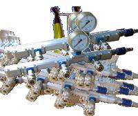 Mitteldruck-Verteilerschienen