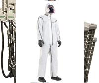 Einwegschutzausrüstung