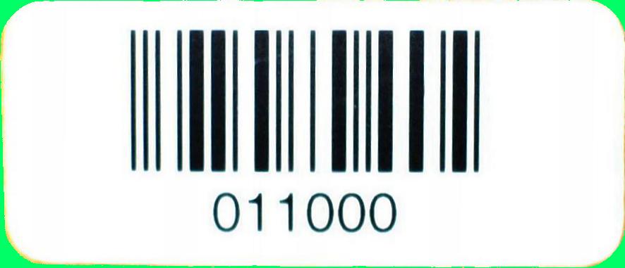 Barcodeetikett